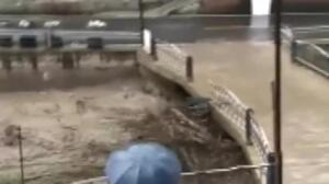 Un desaparecido y 600 evacuados por las inundaciones en China