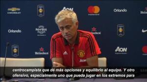 """Mourinho, sobre Bale: """"Me gustaría tener dos jugadores más, pero probablemente sólo consiga uno"""""""