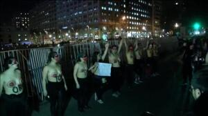 Protestas en Chile por el rechazo del Parlamento a la legalización del aborto