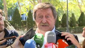 """Larrea: """"Si Villar considera que es inocente y no debe dimitir no es una decisión que deba tomar yo"""""""