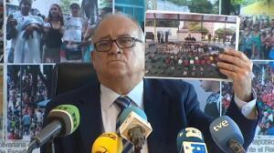 """El embajador de Venezuela pide a España que condene el """"terrorismo"""" de la oposición"""