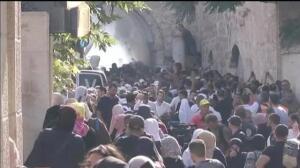 Nueva jornada de disturbios en la Explanada de las Mezquitas