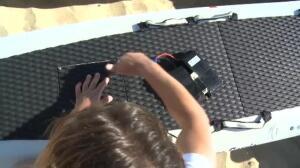 Una tabla de surf eléctrica ayudará a los socorristas de Vizcaya