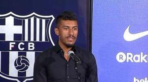 Paulinho ya es nuevo jugador del FC Barcelona