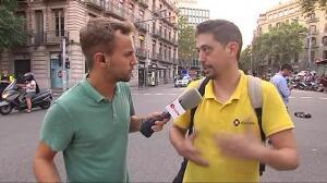 El pánico se apodera de la Rambla de Barcelona