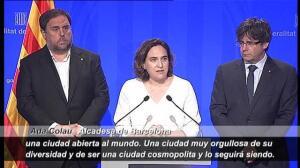 """""""Barcelona es una ciudad cosmopolita y lo va a seguir siendo"""""""