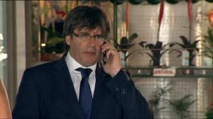 El president de la Generalitat acude al hospital del Mar a visitar a los heridos