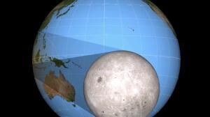 El eclipse solar solo se verá desde Galicia y Canarias
