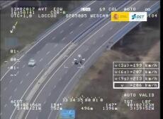 La DGT distribuye imágenes de las infracciones por velocidad más llamativas (II)