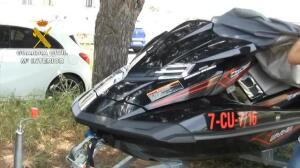 La Guardia Civil desarticula una red de narcotráfico con embarcaciones de lujo