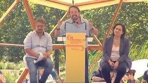 Pablo Iglesias, en Barcelona: