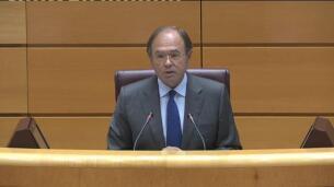 El Senado guarda un minuto de silencio por los atentados de Barcelona y Cambrils