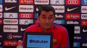 """Valverde: """"Un jugador veterano quizás no habría hecho ese gesto"""""""