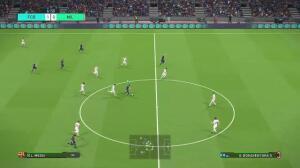 «Gameplay» de «Pro Evolution Socer 2018»
