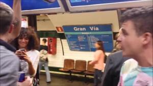 Arkano y Skone en Metro Madrid