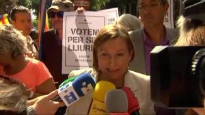 """Forcadell sobre Puigdemont y Aigües de Girona: """"No somos ingenuos"""""""