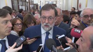 """Rajoy: """"Se está atropellando los derechos de todos"""""""