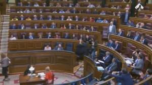Nuevo enfrentamiento en el Congreso por Cataluña