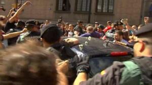 Se dispara la tensión en Cataluña