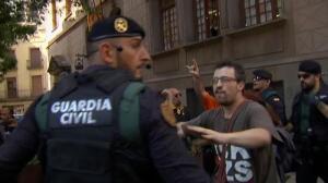 Concentraciones de protesta en toda España a favor de la sedición en Cataluña