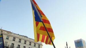 Manifestaciones no autorizadas a favor del referéndum en varias ciudades españolas