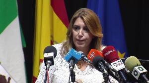 "Díaz recuerda a catalanes de origen andaluz que ""el Estado les protege"""