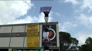 Concentraciones universitarias en contra de las detenciones por el referéndum