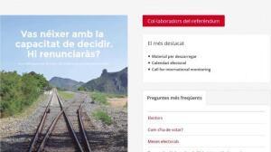 Disponible la web que indica a cada catalán dónde votar