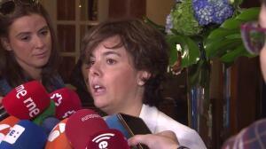 """Santamaría: """"El referéndum se ha quedado en un plan de contingencia"""""""