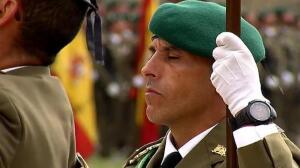Más de 300 civiles juran bandera en el castillo de Figueras