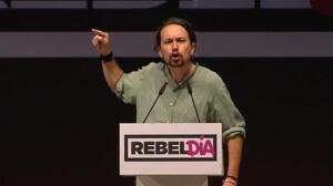 "Pablo Iglesias: ""¡Viva la fraternidad, viva la democracia, visca Catalunya y viva España!"""