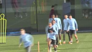 El Manchester City busca seguir líder del Grupo F