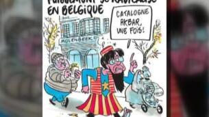 Carles Puigdemont vuelve a colarse en las páginas de Charlie Hebdó