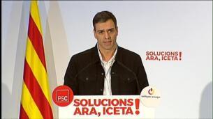 Sánchez pide a Rivera respeto para los votantes socialistas