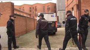 Los tres jugadores de la Arandina detenidos llegan al juzgado