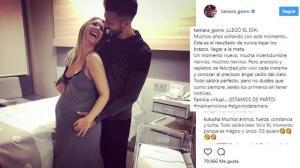 Tamara Gorro está de parto