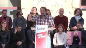 Iglesias aboga por un Govern que blinde el autogobierno