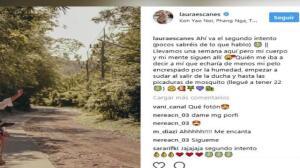Laura Escanes, nostálgica tras la vuelta de su luna de miel