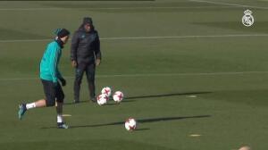 El Real Madrid continúa preparando el encuentro ante el Leganés