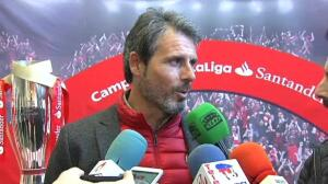 """Alkorta sobre Arrizabalaga: """"me gustaría que jugara aquí los siguientes 15 años"""""""