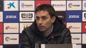 """Garitano: """"El 0-1 nos deja mal pero me voy contento por el esfuerzo del equipo"""""""