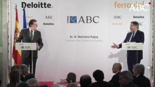 Rajoy en el Foro ABC: «Los gigantes de Internet tienen que pagar sus impuestos»