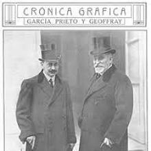 Portada de «Crónica Gráfica», con García Prieto (izquierda)