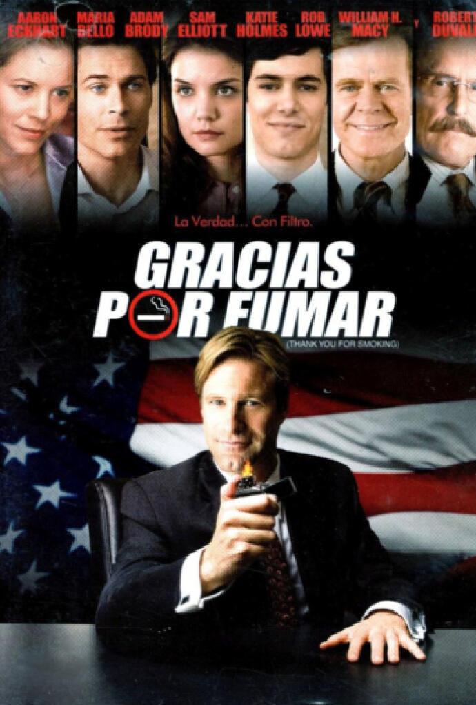 Gracias por fumar (2005) Película - PLAY Cine
