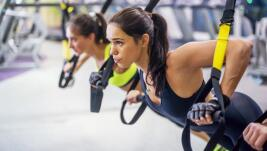 TRX, the suspension training that burns up to 600 calories per hour
