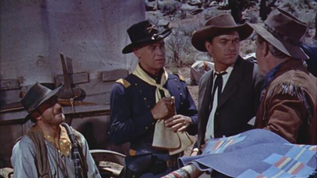 La Travesía Del Desierto 1954 Película Play Cine