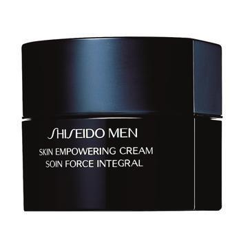 Skin Empowering Cream Shiseido Men (139€), un tratamiento global contra todos los signos del envejecimiento de la piel