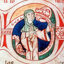 Guda, una monja del siglo XII, una de las pocas mujeres medievales que firmaron sus manuscritos iluminados