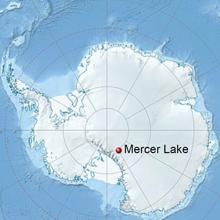 Ubicación del lago Mercer