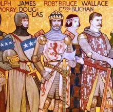 Sir Douglas, Robert the Bruce y William Wallace